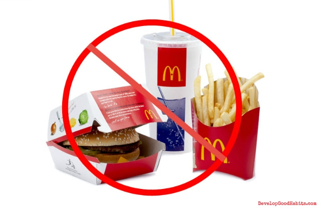 Image result for no fast food