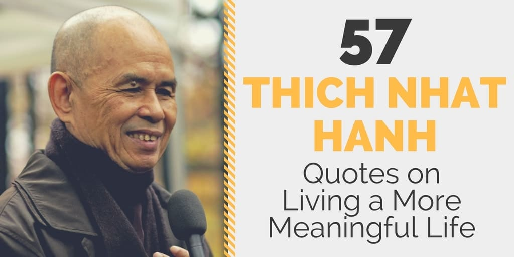 Senior Life Quotes Glamorous 57 Thich Nhat Hanh Quotes On Living A More Meaningful Life