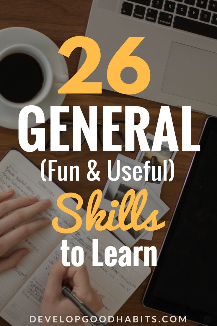 Check out this new skills to learn list and find out which great skills to  learn