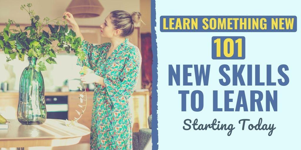 101 New Skills: Learn Something New Everyday